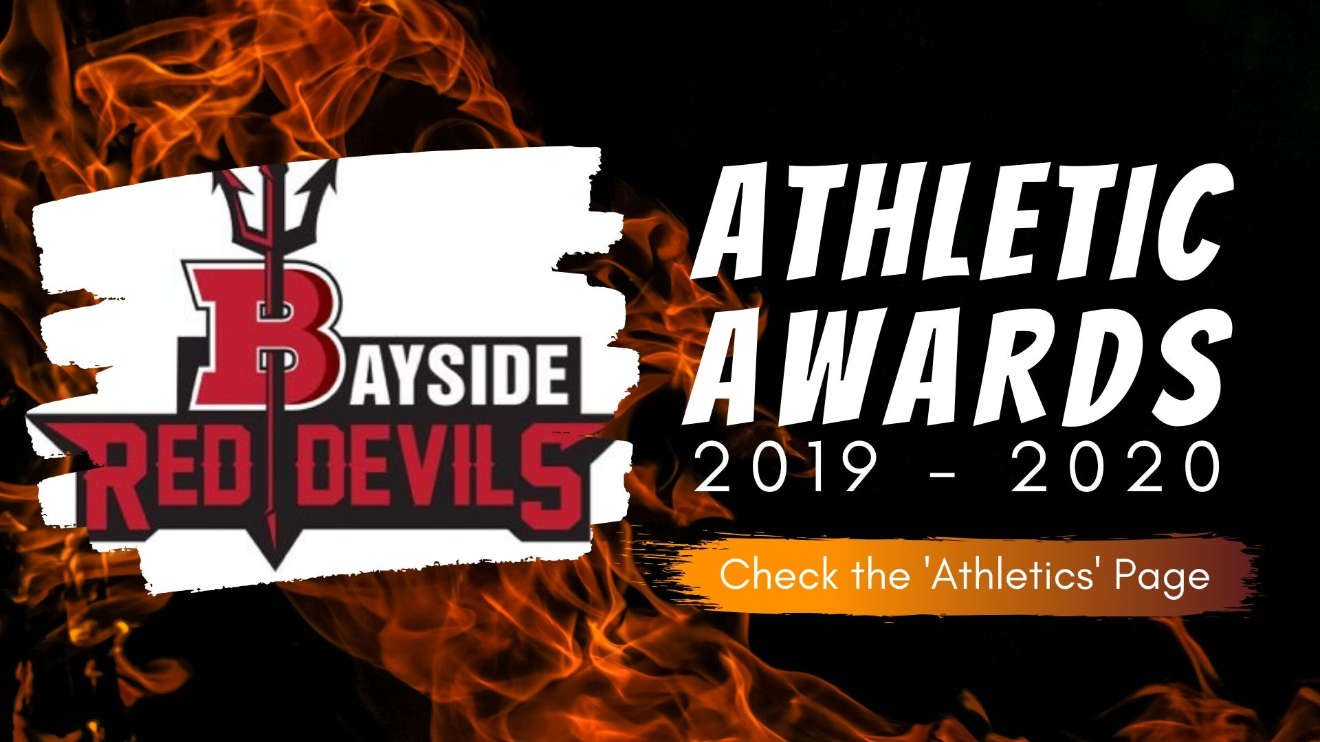 Athletic Awards 2019 2020